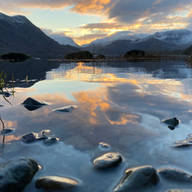 Beautiful Sunsets by the Lake