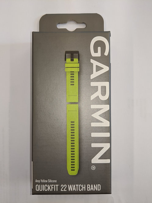 Garmin Fenix 5 Watch Band Amp Yellow Silicone