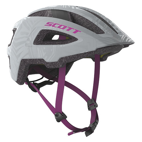 Scott Groove Plus Helmet Grey/Ultra Violet
