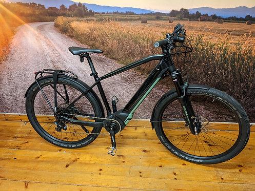 Scott E-Aspect AT Electric Bike 2018 Black Green