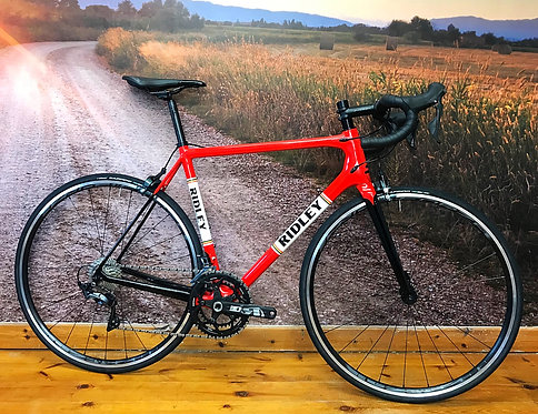 Ridley Helium X Ultegra With Pureline Heritage Red Paint