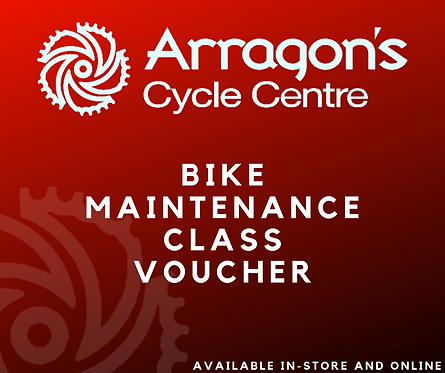 Arragons Cycles Maintenance Class Voucher