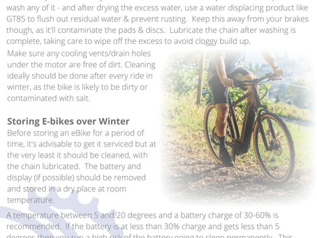 A Guide to Caring for Your eBike