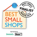 Best Small Shops Finalist 2019