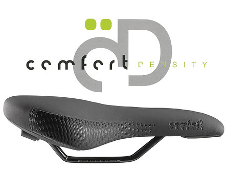 DDK D100 Comfort Density Leisure/Trekking Saddle in Black
