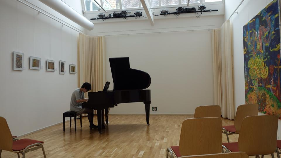 recital at Leiden