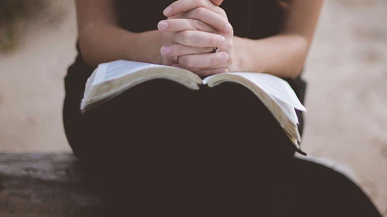 Intercessory zoom prayer night meeting