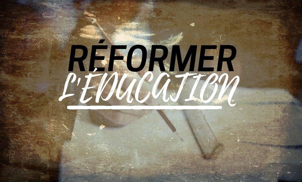 Réformer l'éducation