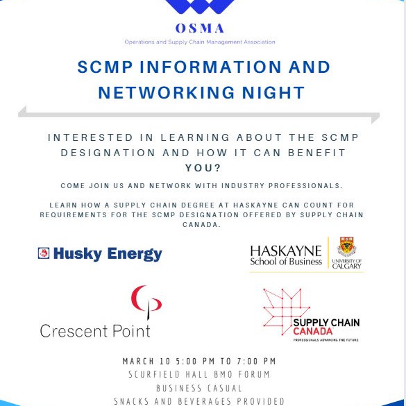 SCMP Information & Networking Night