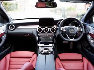 2016 Mercedes C- Class interior