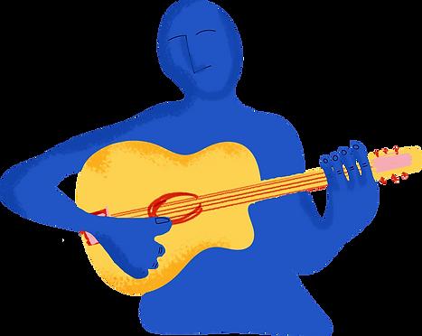 Gypsy Jazz Acoustic Guitar UK Player