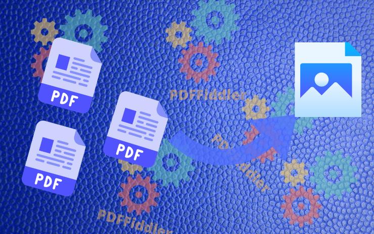 Convert PDF to Image using PDFFiddler Playground