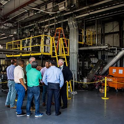 Dominican Republic Representatives visit to Proton Power, TN