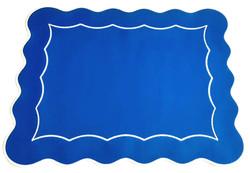 Americano Íris RET - Azul Royal/Branco
