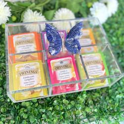 Caixa de Chá Borboleta Sodalita
