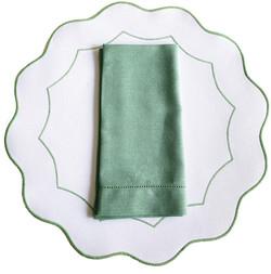 Americano íris - Branco/Verde Mescla