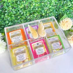 Caixa de Chá Borboleta Amarela