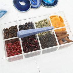 Caixa de Gin - Quartzo Azul