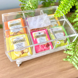 Caixa de Chá - Quartzo Ouro Rosa