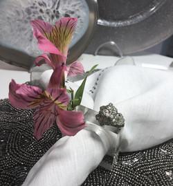 Anel Cristal Flower
