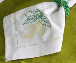 Guardanapo Lemon - Off White