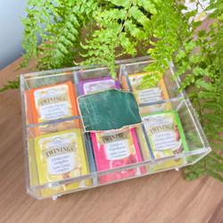 Caixa de Chá - Quartzo Ouro Verde