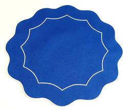 Americano Íris - Azul Royal/Branco