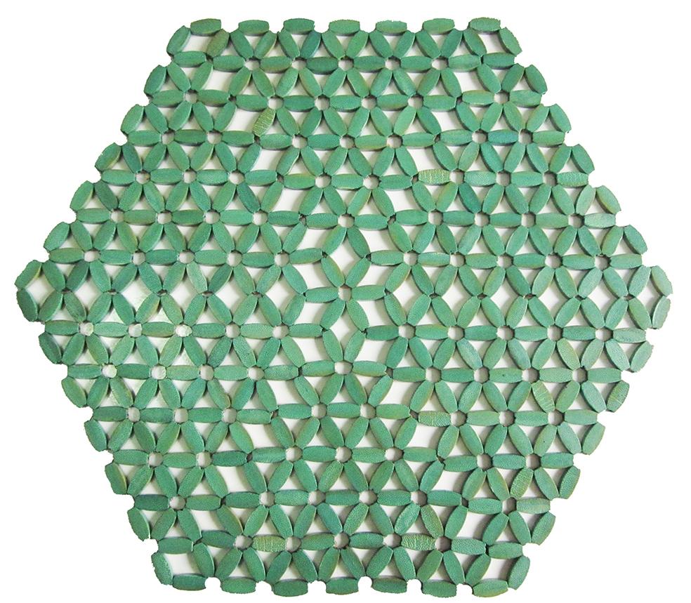 Americano hexagonal - Verde
