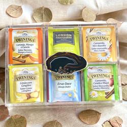 Caixa de Chá - Ágata Fumê
