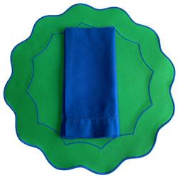 Americano íris - Verde Bandeira/Azul Royal