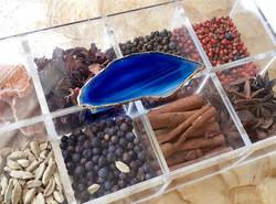 Caixa de Gin - Ágata Azul Royal
