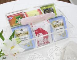 Caixa de Chá - Quartzo Rosa