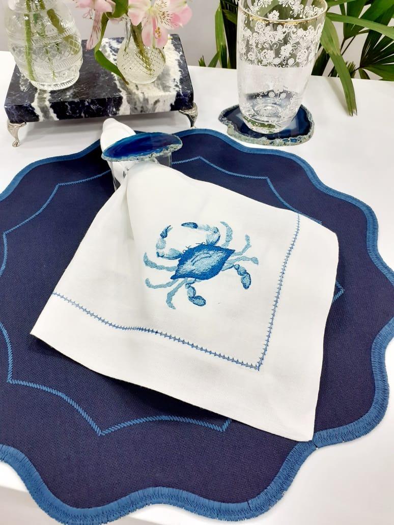Guardanapo Crab