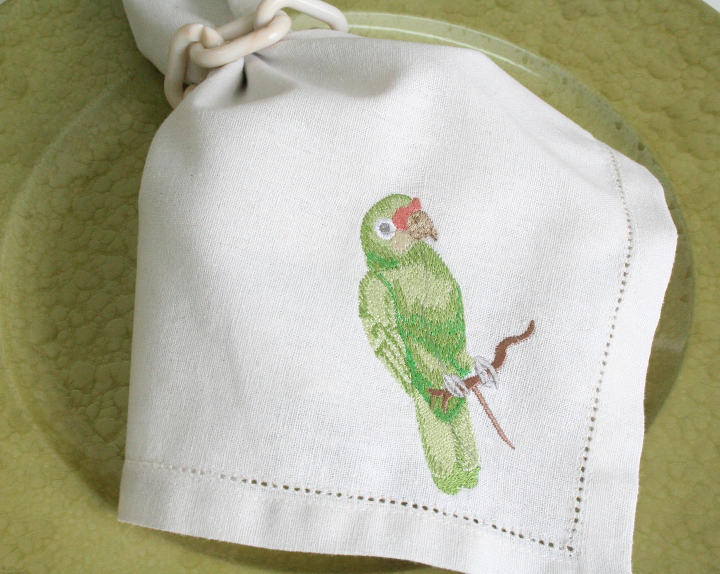 Guardanapo Parrot II - Off White