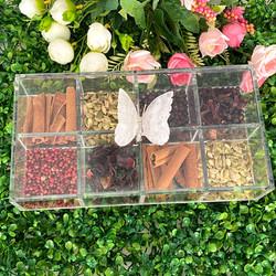 Caixa de Gin borboleta Cristal