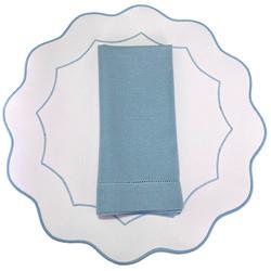 Americano íris - Branco/Azul Claro