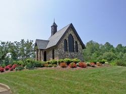 Chapel Overlooking Lake