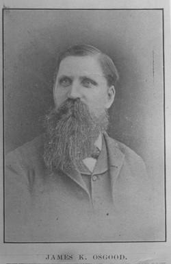 James K Osgood, watchmaker and jeweler