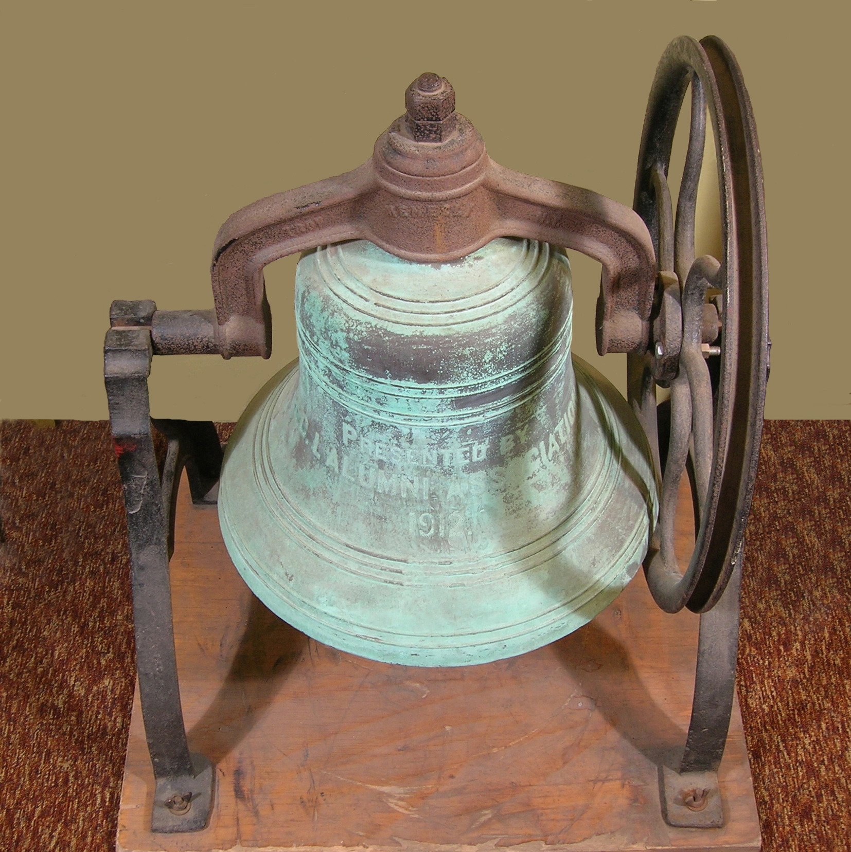 Bell from Potter Hall