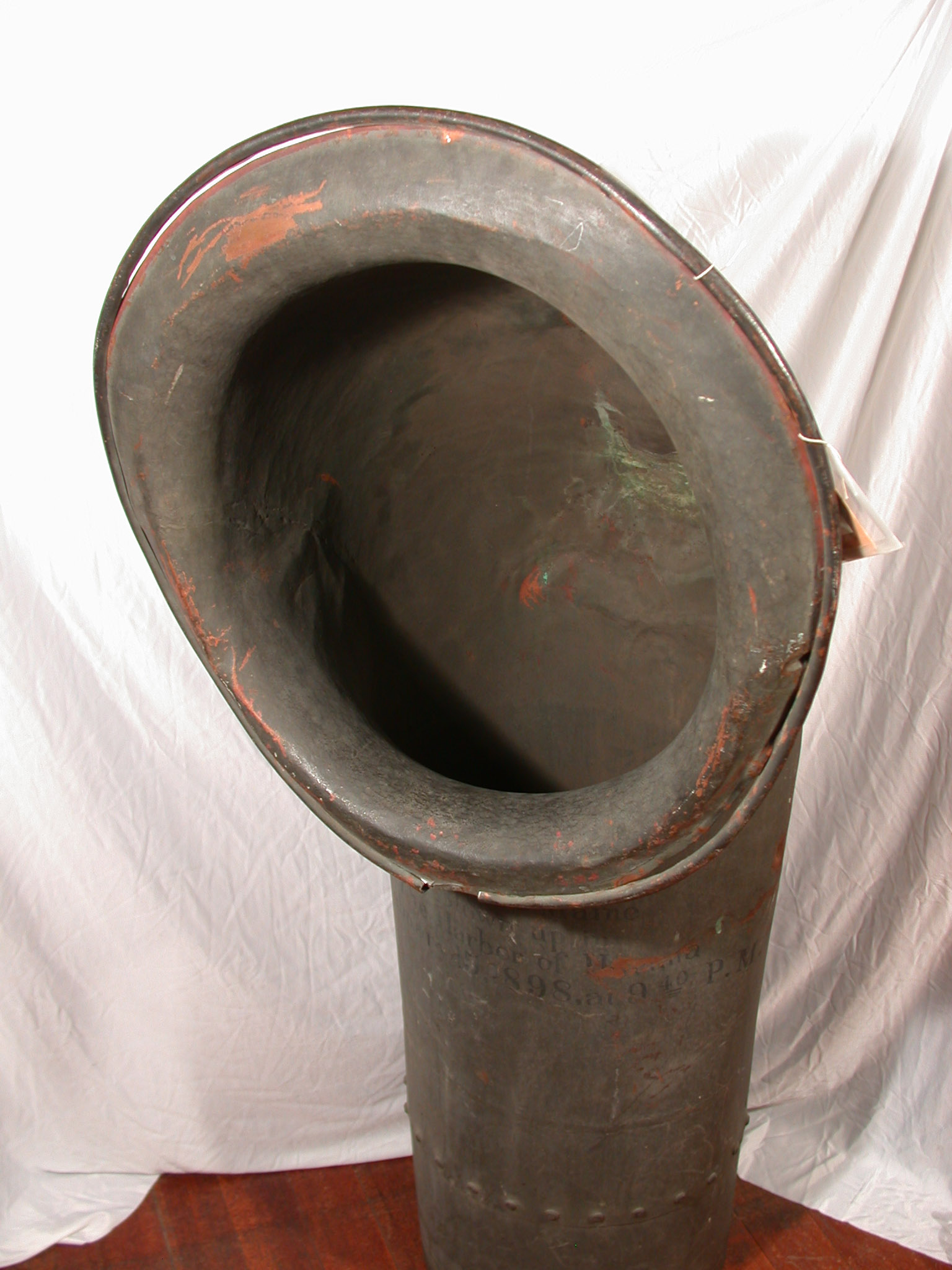 Ventilation cowl from U.S.S. Maine