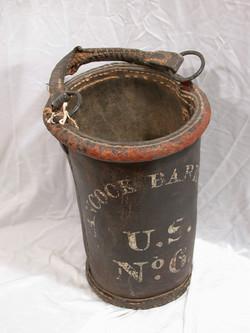 Water bucket from Hancock Barracks