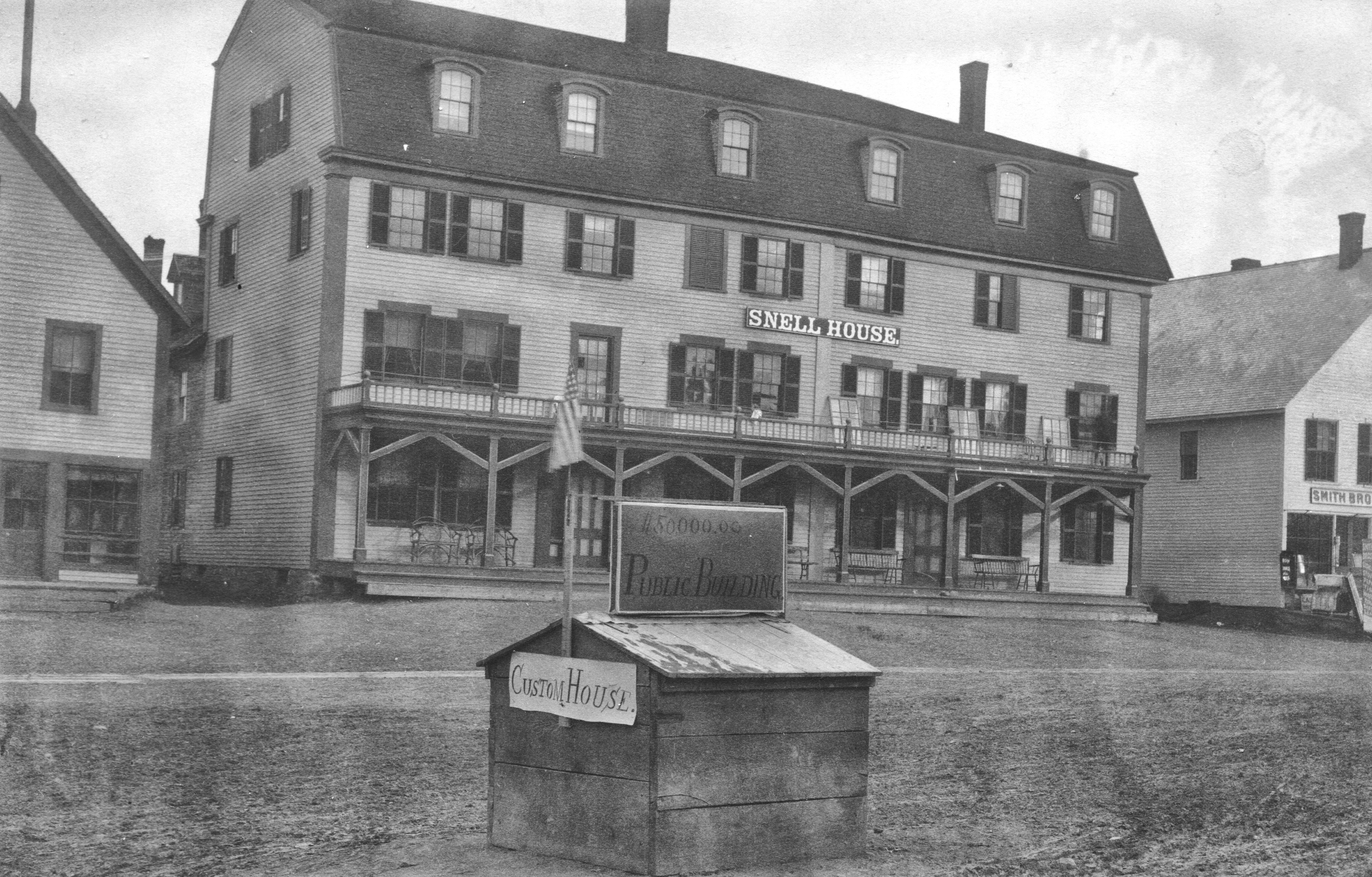 Snell House, Market Square, early 1890s