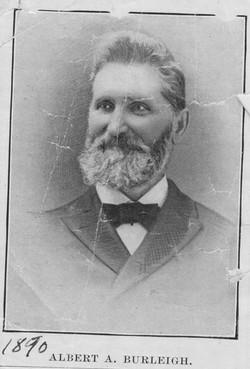 Albert A. Burleigh, 1890