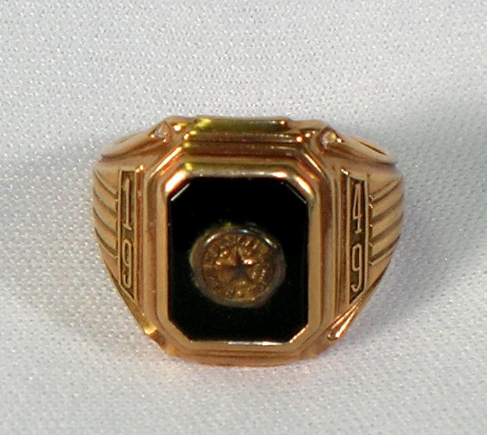 Class ring, 1949