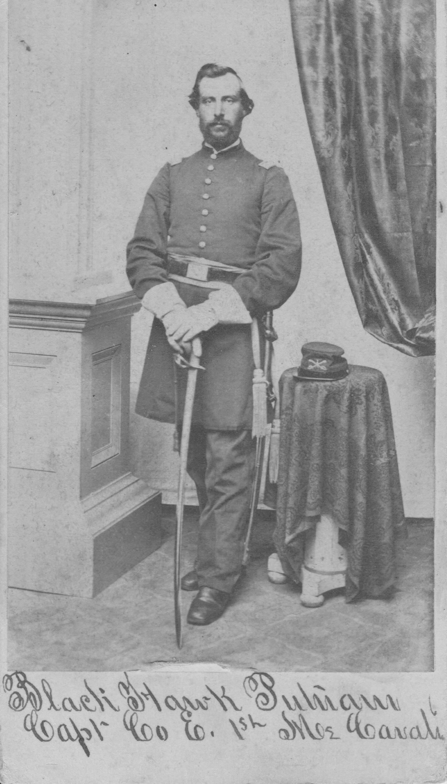 Capt Blackhawk Putnam, Co E 1st Maine Calvary