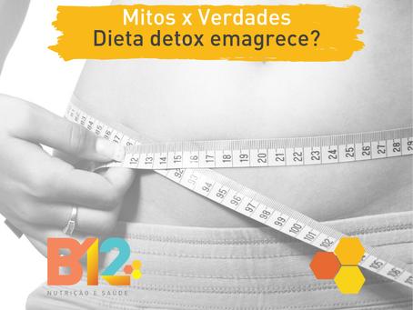Dieta detox emagrece?