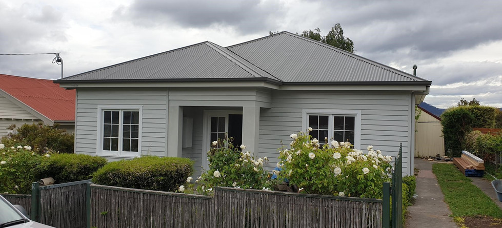 Front of house after renovation