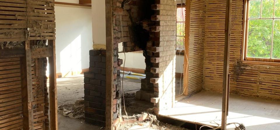 Internal progress - remove walls