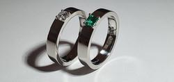עיצוב תכשיטים - טבעות אירוסין