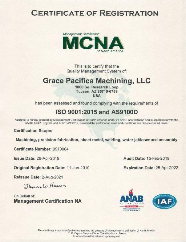 Grace Pacifica Machining, LLC AS9100D.jpg